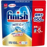 Viên muối cho máy rửa chén FINISH 150v