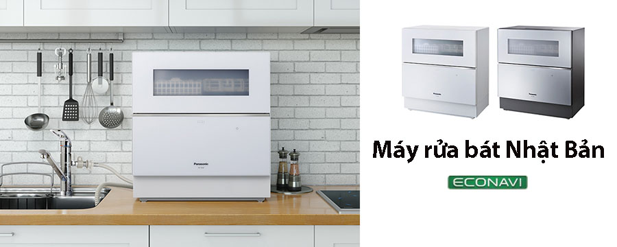Những loại máy rửa bát nội địa Nhật cho gia đình bạn