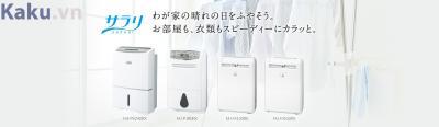 4 model máy hút ẩm nội địa Nhật Mitsubishi mới ra mắt